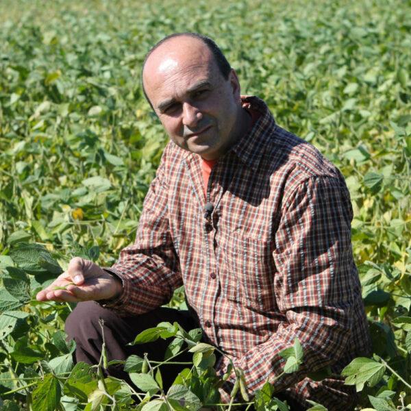 Philip in Soya Field